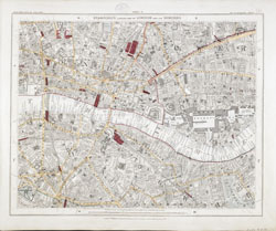 London Map Suburbs.Standford S Library Map Of London And Its Suburbs Scale 6 Inches